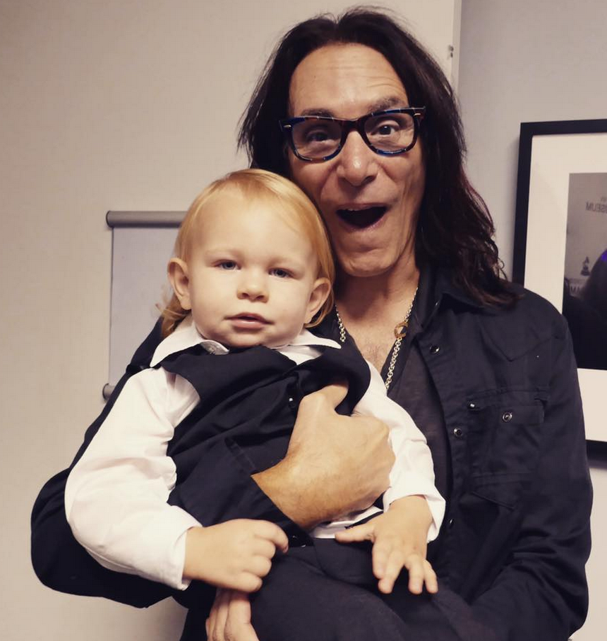Roy Orbison 3 and Steve Vai at the Grammy Museum !