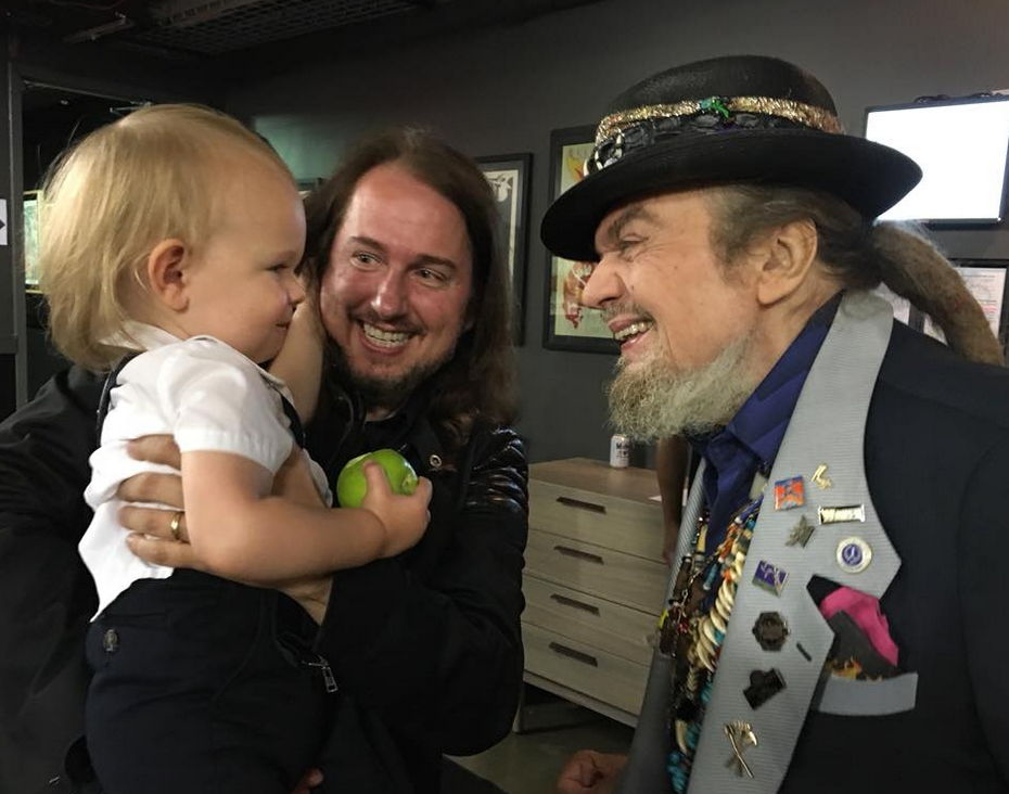 A real honor to meet Dr. John at the Austin City Limits Music Festival (ACL) last week, for the induction of my grandfather Roy Orbison in the Austin City Limits Hall of Fame 🙏🏼⭐️
